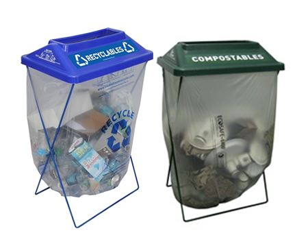 Borrow recycling containers for your next event