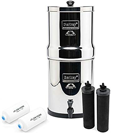 Why I recommend Berkey Water Filter Systems